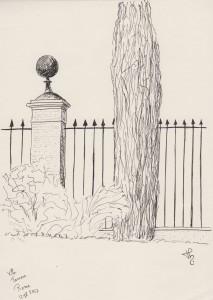 Villa farnese Jardin