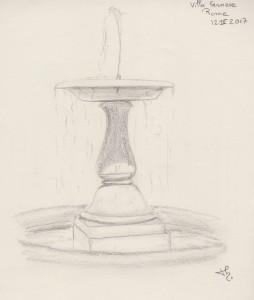 Villa farnese fontaine